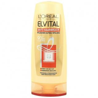 Elvital Anti Haarbruch plegende Aufbau Spülung 200ml 3er Pack