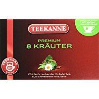 Teekanne Premium Kräuter Kräutertee aus 8 erlesenen Kräutern 5er Pack