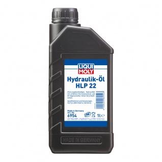 Liqui Moly Hydrauliköl HLP 22 Für Maschinen Pumpen und Anlagenl 1L