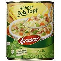 Erasco Hühner Reis-Topf 800g