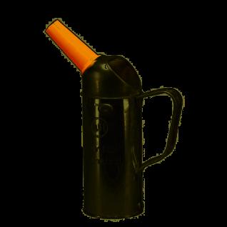 Messbecher Weißblech von Pressol Ölmaßgefäß mit Auslauf 500ml