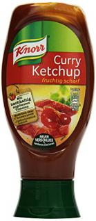 Knorr Ketchup Curry, 8er Pack (8 x 430 ml)
