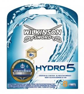 Wilkinson Hydro5 Klingen 8 Klingen in einer handlichen Packung