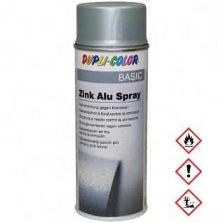 Motip Zink Alu Spraydose Korrosionsschutz Hitzebeständig 400ml
