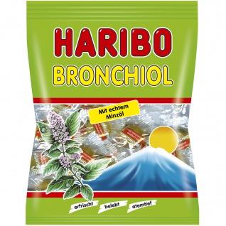Haribo Bronchiol atemtief mit feinwürzigem echten Minzöl 100g
