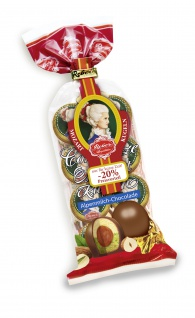 Constanze Mozart Kugeln umhüllt mit 2 Schichten Alpenmilch Schokolade