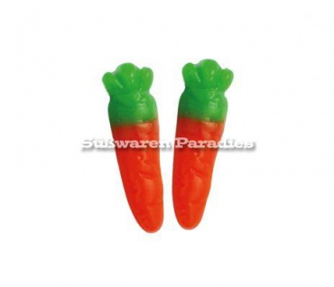 Fruchtgummi süsse Karotten Möhrchen Rübli mit Orange Geschmack 1000g