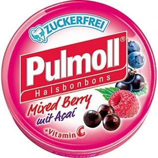 Pulmoll Pastillen Mixed Berry mit Acai ohne Zucker 50g 10er Pack
