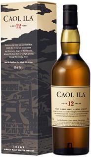 Caol Ila 12 Jahre Islay Single Malt Scotch Whisky (1 x 0, 7 L)