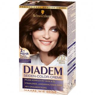 DIADEM Seiden-Color-Creme 732 Schokobraun 180ml Stufe 3