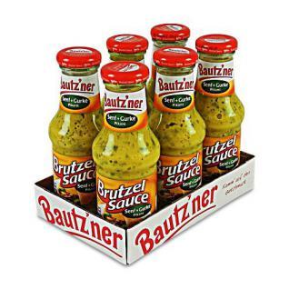 Bautzner Brutzel Sauce Pikant 6er Pack (6 Flaschen à 250 ml)