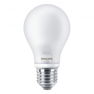 Philips LED Classic Beleuchtung energiesparend 60W E27 WW 230V A60 ND 2er Pack