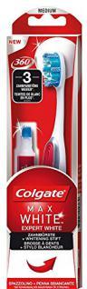 Colgate Max White Expert White Zahnbürste mit 5ml Whitening-Stift, 1 Stück