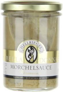 Hellriegel Bella Donna Morchel Sauce, 12er Pack (12 x 180 g)