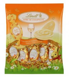 Lindt Marc de Champagne Trüffel Eier Doppel Dreh passend zu Ostern 90g