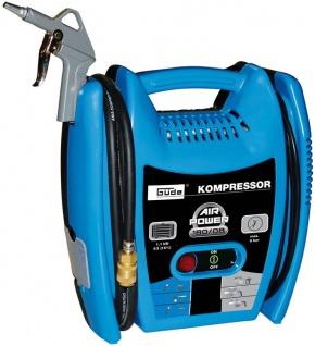 Güde Multikompressorset 6-teilig für die Werkstatt oder den Hausgebrauch