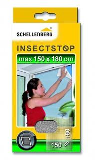 Schellenberg 20403 Fliegengitter 150 x 180 cm weiß