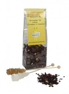 Sternzeichen Tee Schütze mit Kandiszucker Erdbeer Sahne 100g