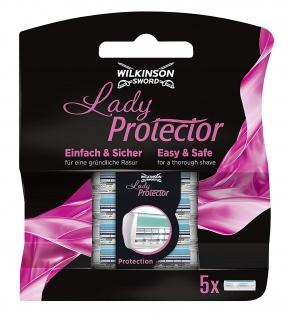 Wilkinson Sword Lady Protector Klingen 5 Stück in einer Packung 2er Pack