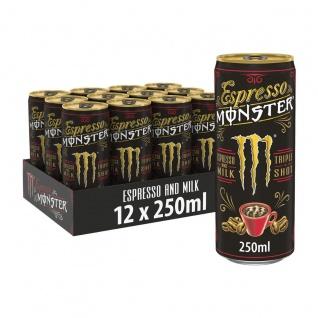Monster Espresso and Milk Triple Shot pfandfrei 250ml 12er Pack