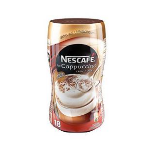 Nescafé Typ Cappuccino Cremig zart, Löslicher Kaffee, 250g Dose (5er Pack)