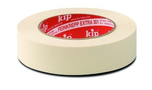 Kip 301-18 Feinkrepp NAT 18mm x 50m Rolle geeignet für innen und außen