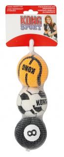 Spielball für Hunde Wurfball Kong Dog ABS2E Sport Balls M 65mm