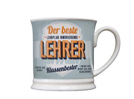 H & H 195000059 Becher, Porzellan, mehrfarbig, 12 x 8, 7 x 8, 7 cm