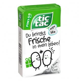 tic tac Mint Sags netter erfrischende Pfefferminzbonbons 100er 49g