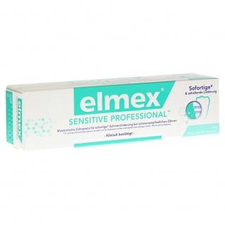 Elmex Sensitive Professional Zahnpasta perfekte Mundhygiene 75ml