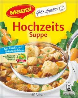 Maggi Guten Appetit Hochzeitssuppe für 1l