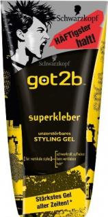Got2b Gel Superkleber, 2er Pack (2 x 150 ml)