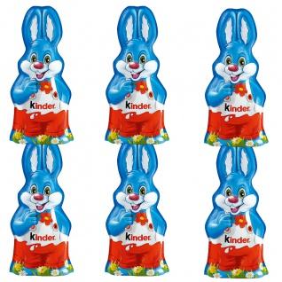 Ferrero Kinder Harry Hase Osterhasen Hohlfigur 110g 6er Pack
