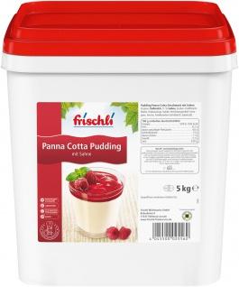 Frischli Sahne Pudding Panna Cotta einfach zu portionieren 5000g
