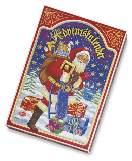 Reber Adventskalender mit einzelnen Schokoladen Pralinen 650g 2er Pack