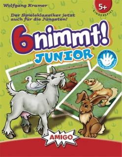 Amigo Spiel 6 nimmt Junior liebevoll und kindgerecht gestaltet
