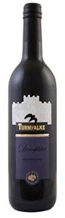 Turmfalke Dornfelder Rotwein Halbtrocken aus Rheinhessen 750ml