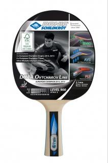Tischtennisschläger Ovtcharov 900 aus FSC Holz Fortgeschrittene