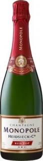 Champagner Heidsieck Red Top vollmundig und sehr ausgewogen 750ml