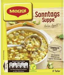 Maggi Guten Appetit, Sonntagssuppe, 59g Beutel, ergibt 3 Teller