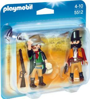 PLAYMOBIL 5512 - Duo Pack Sheriff und Bandit