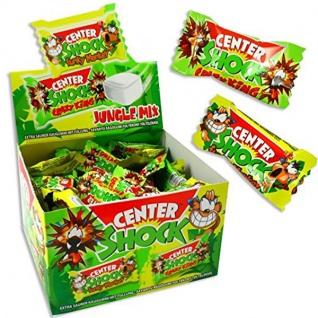 Center Shock Jungle Mix saures Kaugummi mit flüssigem Kern 3er Pack