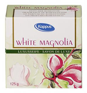 Kappus white magnolia Seife 125 g - Vorschau