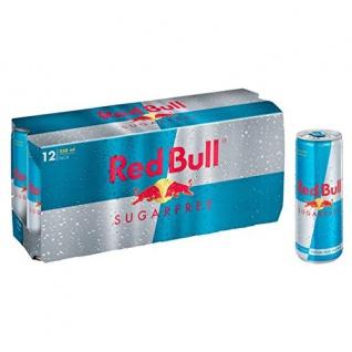 Red Bull Sugarfree koffeinhaltiges Erfrischungsgetränk 250ml 12erPack