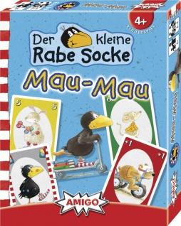 Amigo Rabe Socke Mau Mau Ein schönes Spiel für Kinder ab 4 Jahren