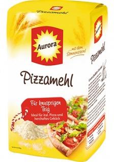 Aurora Mühlen Aurora Pizzamehl spezielle Mischung aus Weizenmehl 1000g