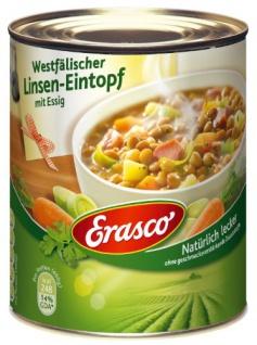 Erasco Westfälischer Linsen-Eintopf, 800 g