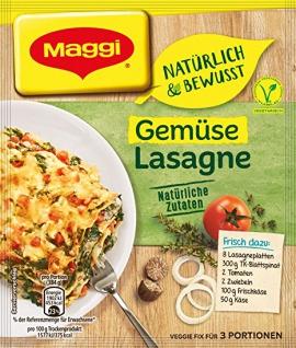 Maggi Fix Gemuese Lasagne