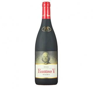 Faustino V Reserva D.O.C. Rotwein trocken kraftvoll harmonisch 750ml