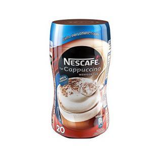 Nescafé Typ Cappuccino Weniger süss, Löslicher Kaffee, 250g Dose (5er Pack)